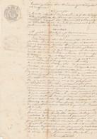 VP 1 FEUILLE - 1853 - INSCRIPTION - RENAUD CHEF A LA PREFECTURE DE L'AIN - PHARMACIEN A BOURG - MEILLONNAS - Manuscrits