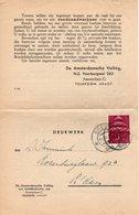 18 II 1944 Drukwerk Van Breda Naar Amsterdam - Brieven En Documenten