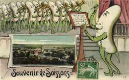 Fantaisie Souvenir De Soissons Musique - Soissons