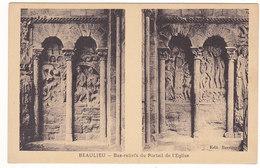 Beaulieu - Bas Reliefs Du Portail De L'église # 4-18/8 - Autres Communes