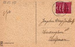 25 V 1945 Ansicht Van SELLINGEN (Gn) Naar Helpman - Brieven En Documenten