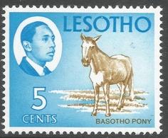 Lesotho. 1967 Definitives. 5c MH. SG 130 - Lesotho (1966-...)