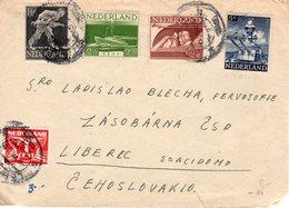 6 VII 1946 Brief Van Leerdam Naar  Liberec - Brieven En Documenten