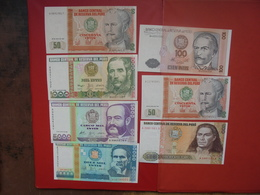 "LOT 7 BILLETS ""PEROU"" NEUFS Ou CIRCULER - Coins & Banknotes"