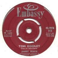 "Johnny Worth   ""  Tom Dooley  "" - Vinyl Records"