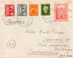 12 X 1948  Brief Van Haarlem Naar  Langwedel - Brieven En Documenten