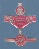 Imperiales Superiores  HABANA CALIDAD 1811 - Cigar Bands
