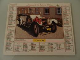 Almanach Du Facteur 1996  Recto  Voiture  Berliet  1916  Verso  Voiture Rambler  1904 - Calendriers