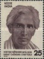 USED STAMPS India - The 100th Anniversary Of The Birth Of Sarat Chandra-  1975 - India