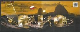 Poland 2016 Mi Bl253 Fi Bl 292 MNH ( ZE4 PLDbl253 ) - Jeux Olympiques