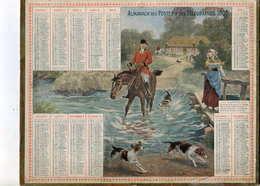 Almanach Postes Et Télégraphe 1905 (chasse à Courre) - Calendriers