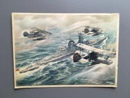 Wehrmacht - Luftwaffe - World War 2 - Military - Army - Feldpost - Airplane - Avion - Vliegtuig - Guerra 1939-45