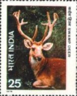 USED STAMPS India - Indian Wildlife -  1975 - India