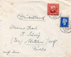 12 X 1949  Brief Van Sneek Naar Uetelen In Westf. - Periode 1949-1980 (Juliana)