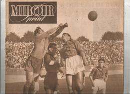 Hebdomadaire Sportif , MIROIR SPRINT , N° 123, 1948 , Football , Rennes Battu à Reims,  2 Scans ,  Frais Fr : 2.85 Euros - Livres, BD, Revues