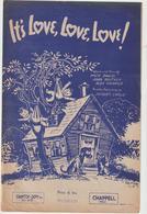 (GEO1) IT' S LOVE , LOVE , LOVE , Paroles JACQUES LARUE  , Musique MACK DAVID - Partitions Musicales Anciennes