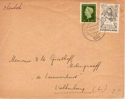 10 XII 1949  Brief Van Utrecht Naar Valkenburg - Periode 1949-1980 (Juliana)
