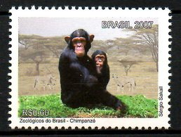 BRESIL. N°2991 De 2007. Chimpanzé. - Chimpanzés