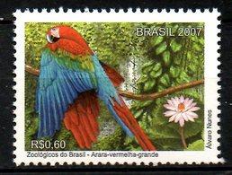 BRESIL. N°2996 De 2007. Ara. - Parrots
