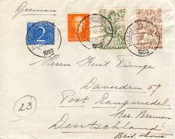 17 IV 1950  Brief Van Haarlem Naar Langwedel - Periode 1949-1980 (Juliana)