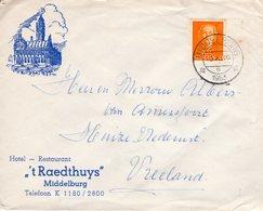 `10 X  1953 Brief Met Illustratie Van MIddelburg Naar Vreeland - Periode 1949-1980 (Juliana)