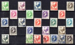 Ausgaben Des Nationalen Befreieungskomitees Algier, Mi-Nr. 9 - 27; Postfrisch + Einige Gest. Los 50962 - Liberation