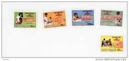 Cap Vert-Cabo Verde-1987-Infirmière,enfants-Protection-502/6***MNH-Valeur 9 Euro - Cap Vert