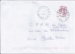 MARIANNE DE CHIAPPA N°4767  SUR LETTRE DE 2013 - 2013-... Marianne De Ciappa-Kawena