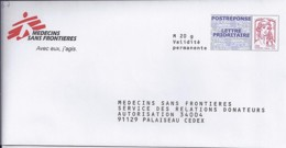 MARIANNE DE CHIAPPA POSTREPONSE N°4767  SUR ENV. MSF - 2013-... Marianne De Ciappa-Kawena