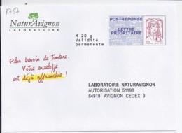 MARIANNE DE CHIAPPA POSTREPONSE N°4767  SUR ENV. NATURE AVIGNON - 2013-... Marianne De Ciappa-Kawena