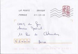 MARIANNE DE CHIAPPA  N°4767adh.  SUR LETTRE DE 2013 - 2013-... Marianne De Ciappa-Kawena