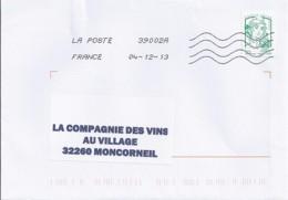 MARIANNE DE CHIAPPA  N°4774c SUR LETTRE  DE 2013 - 2013-... Marianne De Ciappa-Kawena