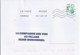 MARIANNE DE CHIAPPA  N°4774d SUR LETTRE  DE 2013 - 2013-... Marianne De Ciappa-Kawena