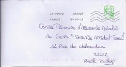 MARIANNE DE CHIAPPA  N°4775  SUR LETTRE  DE 2013 - 2013-... Marianne De Ciappa-Kawena