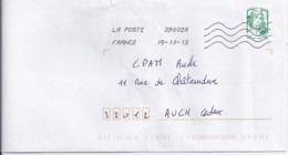 MARIANNE DE CHIAPPA  N°4778  SUR LETTRE  DE 2013 - 2013-... Marianne De Ciappa-Kawena