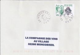 MARIANNE DE CHIAPPA N° 4809 SUR LETTRE DU 31.12.13 / DERNIER JOUR TARIF - 2013-... Marianne De Ciappa-Kawena