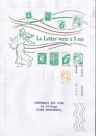 MARIANNE DE CHIAPPA N°BLOC 4908  SUR LETTRE DE 2014 - 2013-... Marianne De Ciappa-Kawena