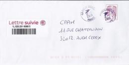 MARIANNE DE CHIAPPA N°ADH.1177A  SUR LETTRE SUIVI DE 2015/18 - 2013-... Marianne De Ciappa-Kawena