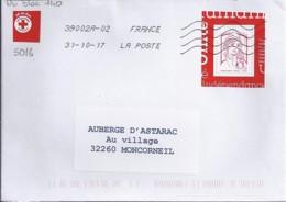MARIANNE DE CHIAPPA N°5016 Du Bloc N°140 SUR LETTRE  DE 2017 - 2013-... Marianne De Ciappa-Kawena