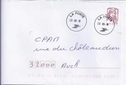 MARIANNE DE CHIAPPA N°5016adh. + OBL. D'ARRIVEE SUR LETTRE  DE 2018 - 2013-... Marianne De Ciappa-Kawena
