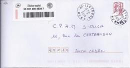 MARIANNE DE CHIAPPA N°5016adh.  SUR LETTRE  SUIVIE DE 2018 - 2013-... Marianne De Ciappa-Kawena