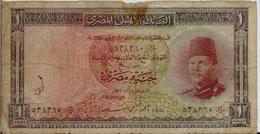 EGYPT  P. 24b 1 P 1951 G - Egypte