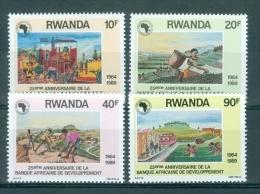 REPUBLIEK RWANDA - OBP Nr 1364/1367 - MNH** - Cote 6,00 € - Rwanda