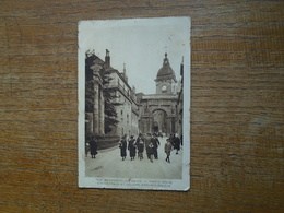 """Carte Assez Rare , Besançon-les-bains , Porte Noire , Cathédrale Et Square Archéologique  """""""" Carte Animée """""""" - Besancon"""