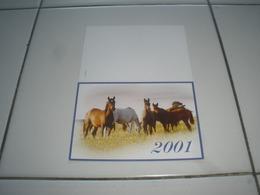 CALENDRIER PETIT FORMAT 2001 - Calendriers