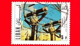 LIBANO - Usato - 1971 - Turismo - Centrale Elettrica - Jamhour Substation - 5 - Libano