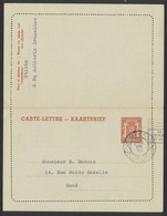 EP Au Type 1F35 Orange Obl De Controle 19/7/48 Vers Gand / Carte-lettre. - Entiers Postaux