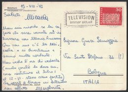 AM109   Switzerland, Suisse  - Television Immer Aktuell - Special Postmark - Telecom