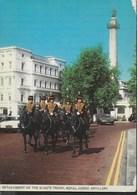 DETACHEMENT OF THE KING'S TROOP , ROYAL HORSE ARTILLERY - LONDRA  - VIAGGIATA 1962 - Folklore