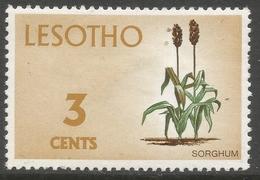 Lesotho. 1971 Definitives. 3c MH. SG 195 - Lesotho (1966-...)